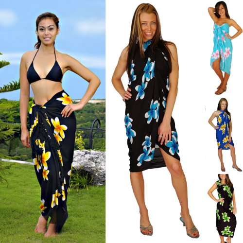 05125 swimsuit cover up 51 TXp1pHHL Ladies Plumeria Swimsuit Cover up Sarong  by 1 World Sarongs in in your choice of color