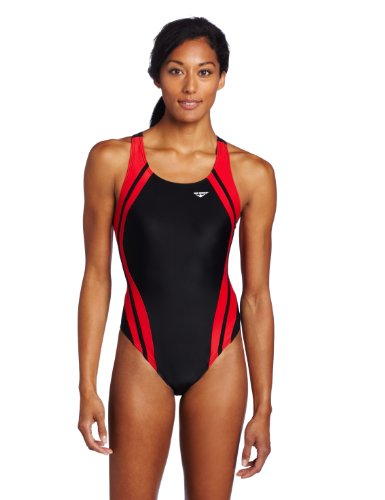 09aaa women swimsuit 41p2GslAVEL The Finals Womens Reactor Splice Tough Competition Back Swimsuit