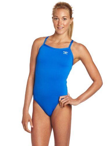 8fbe4 women swimsuit 41bGKCzggfL The Finals Womens Enduroteh Stretch Solid Butterfly Back Swimsuit